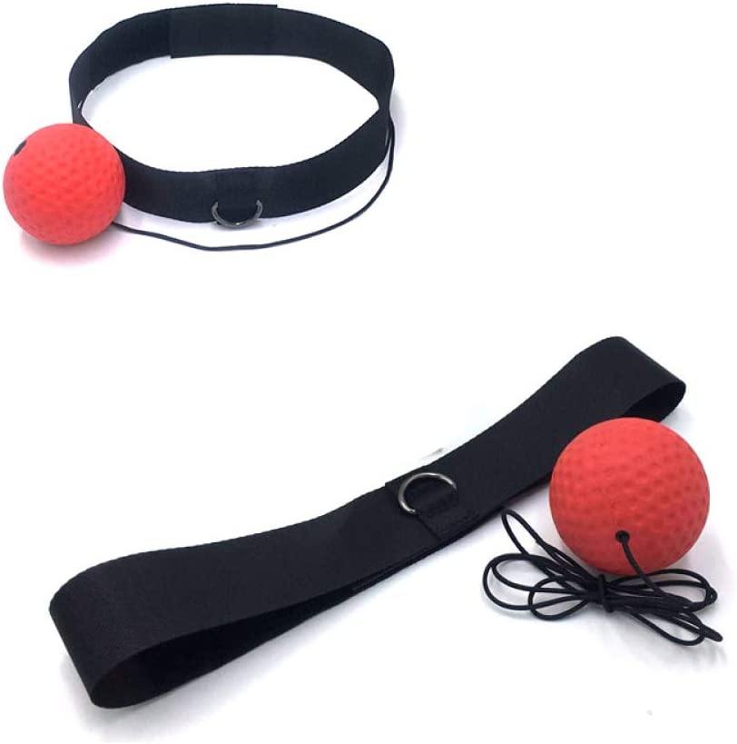Fight Reflex Ball Practical with Headband Portable Boxing Training Ball Fitness Accessories Boxing Training Ball Suitable for Adult//Kids Best Boxing Equipment