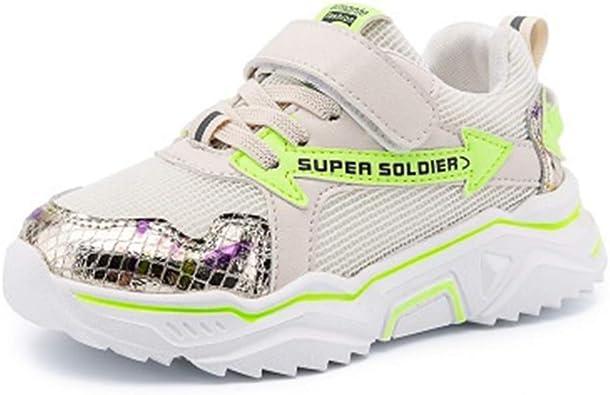 Mofeng Zapatillas de Deporte para niños con Velcro para Correr: Amazon.es: Zapatos y complementos