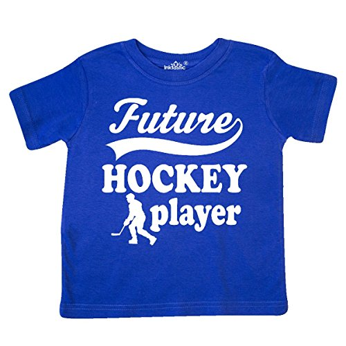 inktastic - Future Hockey Player Boys Toddler T-Shirt 5/6 Royal Blue ()