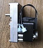 Pellet Stove Auger Gear Feed Motor, 2 RPM, 120V, 60Hz Clockwise...