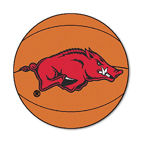 Fan Mats University of Arkansas Basketball Area Rug