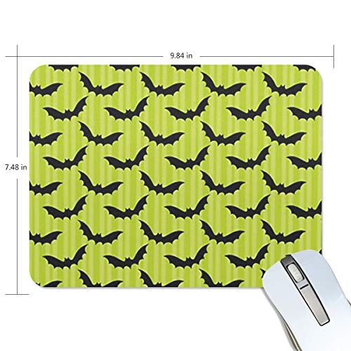 Mouse Pad Halloween Pictures Ideas Customized Rectangle Non-Slip Rubber Mousepad Gaming Mouse mat 9.8x7.5 -
