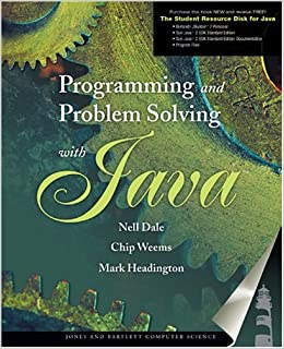 Programming And Problem Solving With Java: Amazon in: Nell