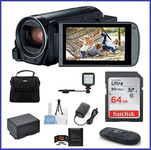 Canon VIXIA HF R800 Full HD Camcorder Bundle, includes: 6...