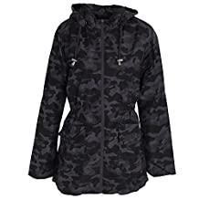 Brave Soul Womens/Ladies Camouflage Zip Up Jacket