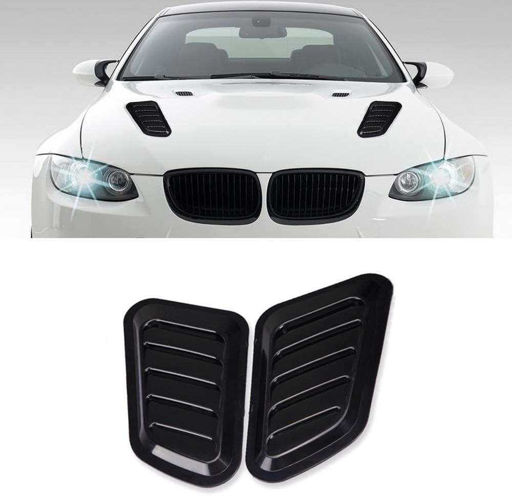 ABS Simulation Car Air Flow Intake Hood Scoop Vent Bonnet Decor Cover Decorative