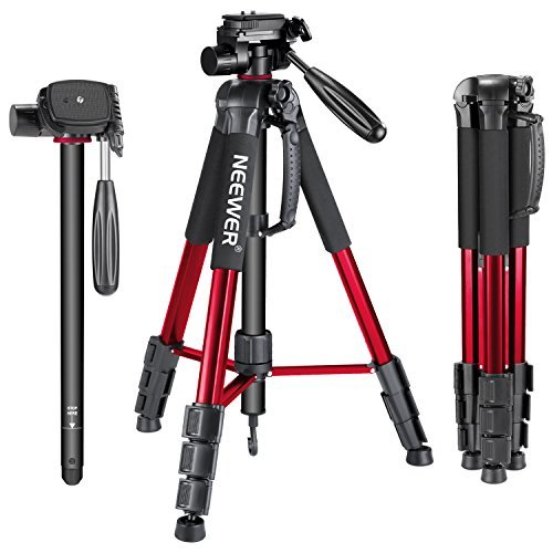 Neewer Portable 70 inches/177 centimeters Aluminium Alloy Camera Tripod...