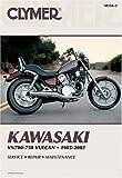 Clymer Kawasaki Vn700-750 Vulcan, 1985-2002 (Clymer Motorcycle Repair)