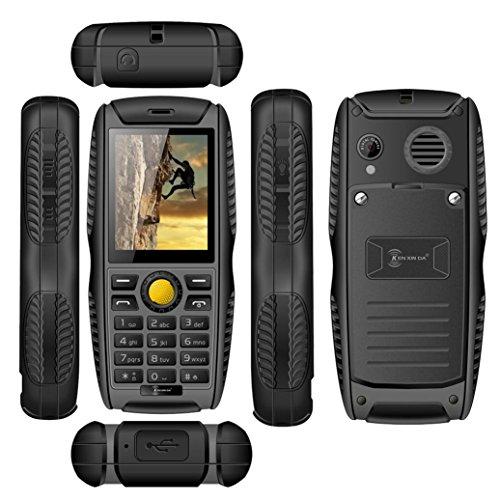 PROOFINGS Cell Phone ,Elevin(TM) Hotsale! New Kenxinda W3 Waterproof Shockproof Dustproof Dual SIM Cards Cell Phone (Gray)