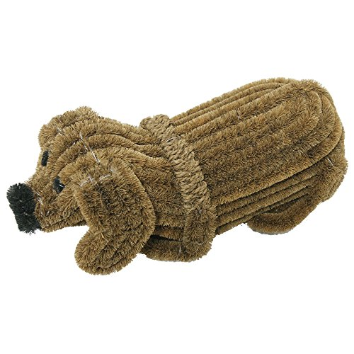 Rubber-Cal-Doggie-Coir-Boot-Scraper-Doormat-5-by-9-by-18-Inch