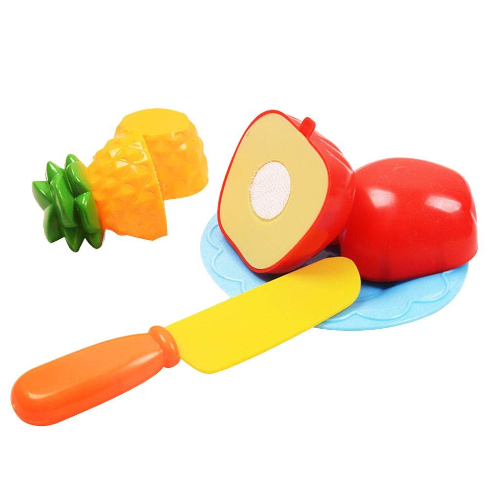 Giocattoli da cucina per tagliare frutta e verdura fare simpatico giocattoli per bambini 19 pezzi con cestino