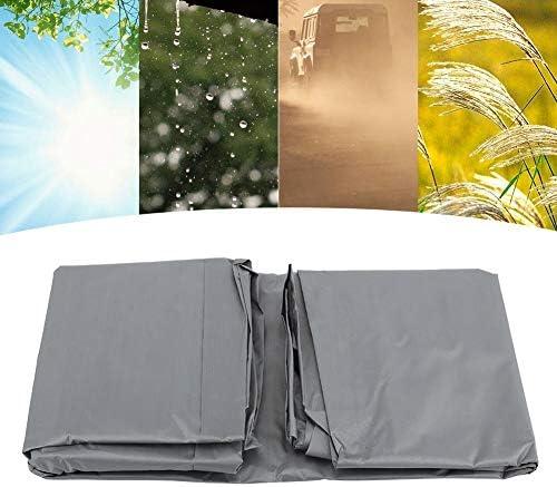 Couverture de BBQ, caisse imperméable et antipoussière, appropriée au barbecue et au ménage extérieurs antipoussière(GARY)
