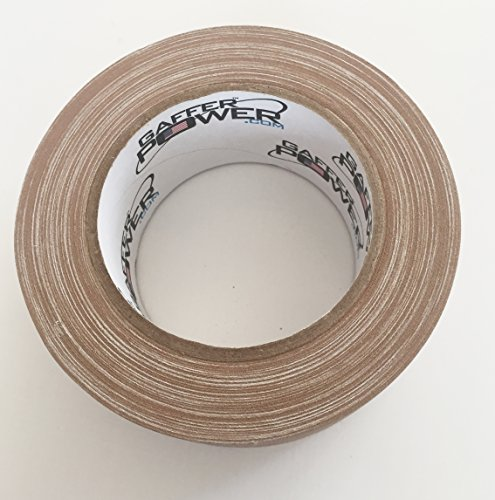 70ccd4e57d Real Premium Grade Gaffer Tape by Gaffer Power Made in The USA TAN 2 Inch X