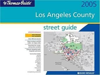 Thomas Guide : Los Angeles County: Amazon.com: Magazines