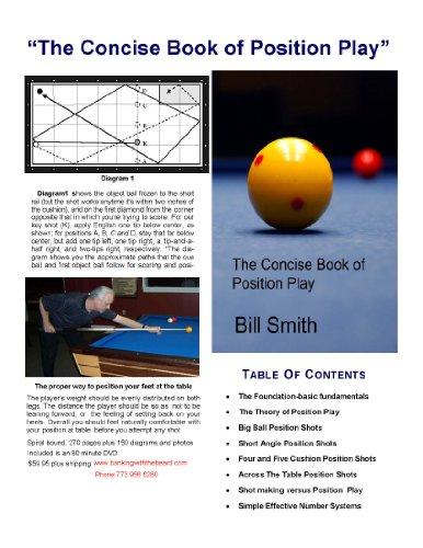 Concise Book of Position Play 3 Cushion - Billiard 3 Cushion