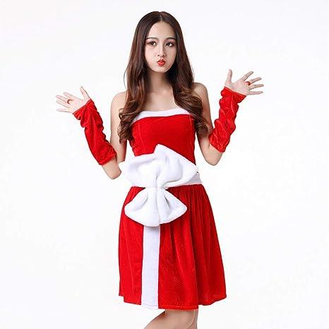 Shisky Disfraz de Navidad Adulto, Traje de Muchacha de Vestido de ...