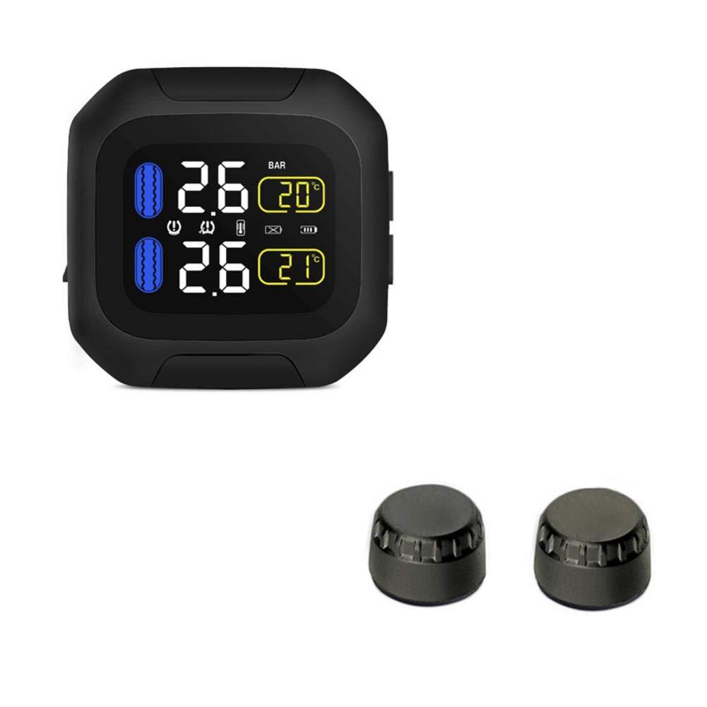 Drahtloses Motorrad Reifendruck Alarm Monitor System TPMS Lcd Display Motor H9R9