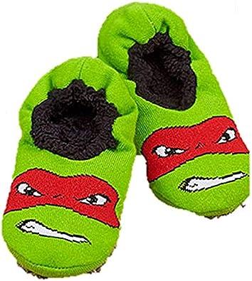 best quality so cheap fashion Amazon.com: The Big Discount Boy's Slipper Socks TMNT Teenage ...