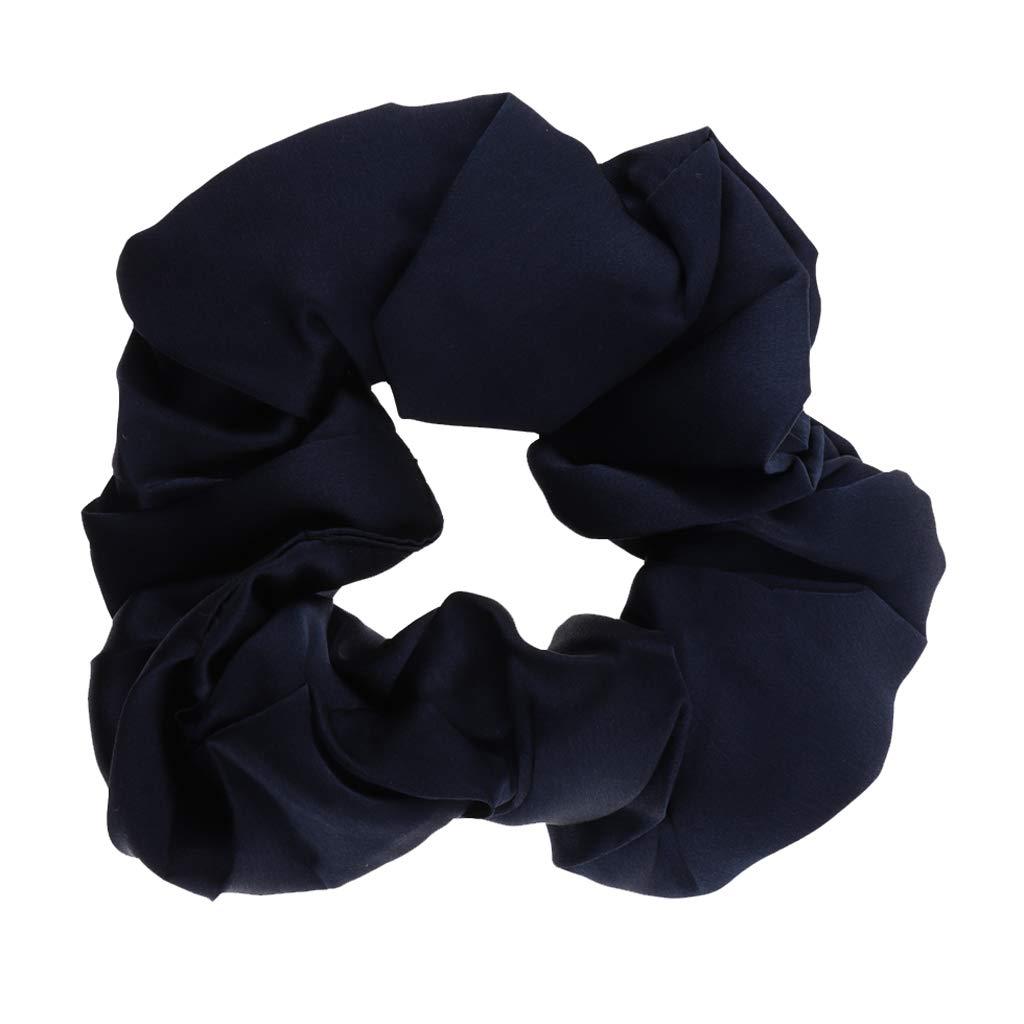 7 Stück elastische Haargummis Haarbinder Zopfgummi Haarband orange rot Glitzer