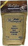 Roasted and Ground 100% Jamaica Blue Mountain Coffee, 16oz (1lb) Bag
