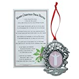Merry Christmas from Heaven Photo Ornament - Loved Ones Tree Decoration (Non-personalized)