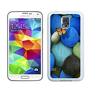 colorful cobblestone White Samsung Galaxy S5 Phone Case Fashion and Unique Design