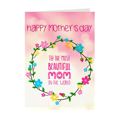 Giftsbymeeta Gift Message For Maa Birthday Mother Greeting Cards Card