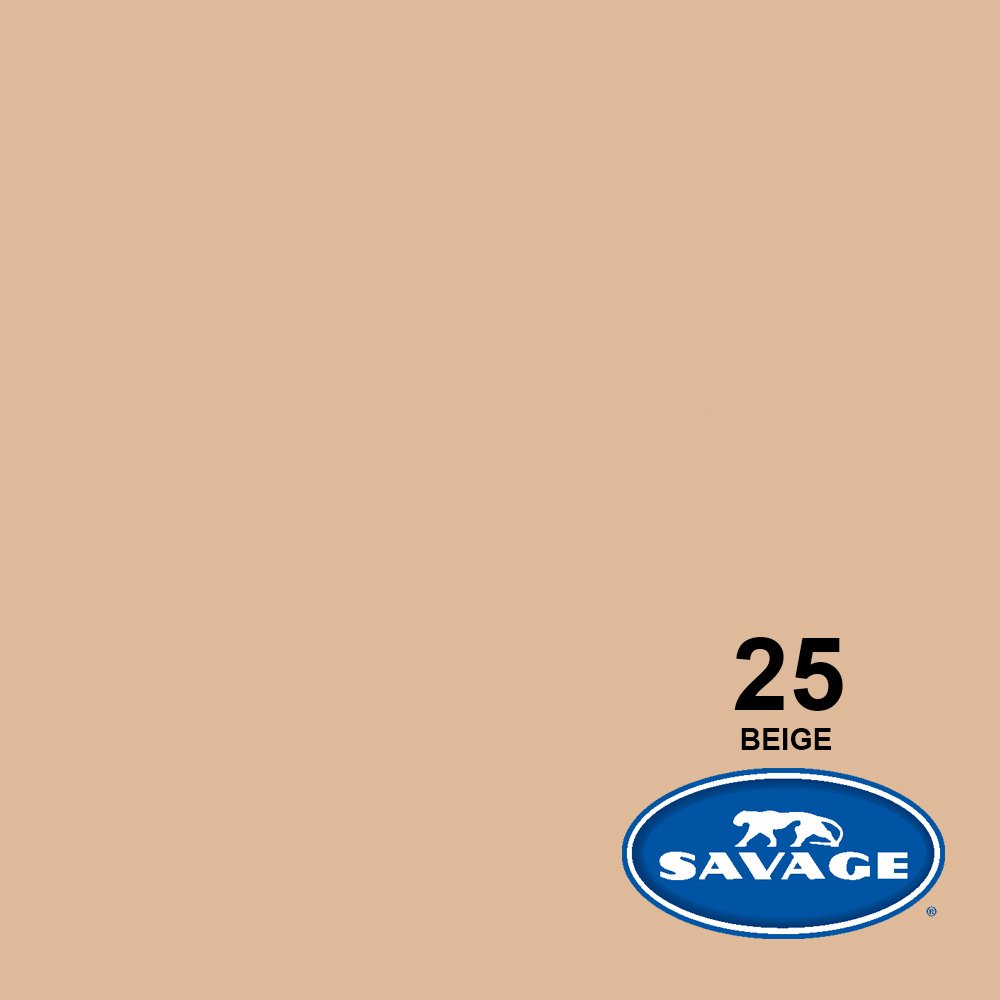 Savage Seamless Background Paper - #25 Beige (86 in x 36 ft) by Savage Universal (Image #2)