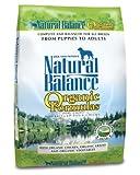 Natural Balance Organic Formula Dry Dog Food, 12.5-Pound Bag, My Pet Supplies