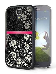White Flowers Hard Case for Samsung Galaxy S4