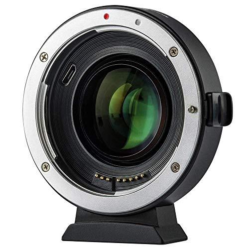 Viltrox EF-M2 II Auto Focus Lens Mount Adapter for Canon Eos EF Lens to Micro Four Thirds EF-M43 Cameras GH4 GH5 GF6 GF1 GX1 GX7 E-M5 E-M10 E-PL5