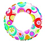 Intex 59241 Kids Circular Inflatable Swim Ring Float, Size 61 cm, For Ages 6 – 10 Years