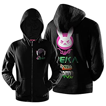 kihigh ow overwatch dva cosplay costume hoodie jacket xxxl amazon