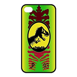 Mystic Zone Jurassic Park iPhone 4 Case for iPhone 4/4S Cover Famous Film Fits Case KEK0781