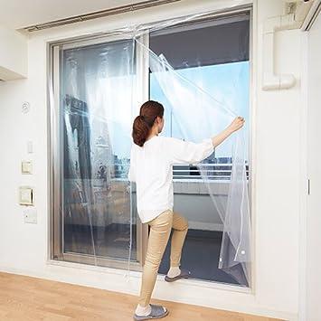Amazon窓 断熱シート 断熱フィルム 断熱カーテンライナー ファスナー