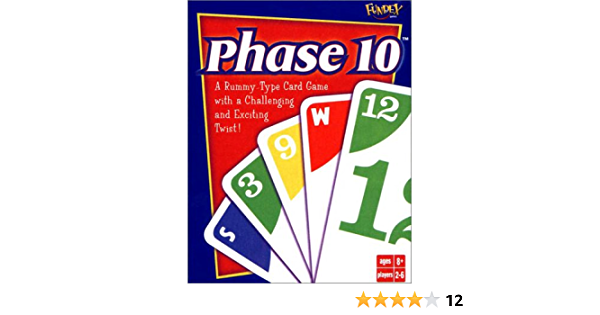Details about  /Mattel Card Game Phase 10 A rummy type with a challenging and exciting twist