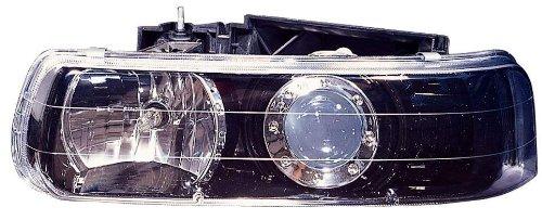 Depo 335-1119PXAS2 Black Headlight Projector Assembly