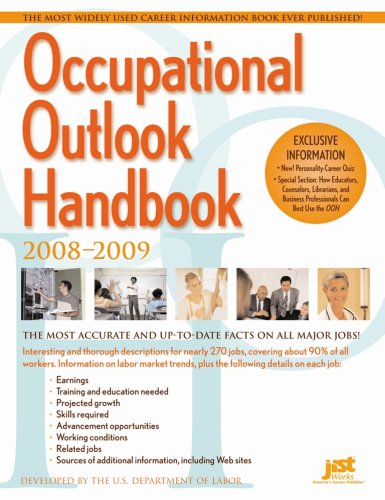 (Occupational Outlook Handbook, 2008-2009 (Occupational Outlook Handbook (Paper-Claitor's)))