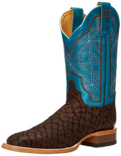 Cinch Women's Puzzle WN Western Boot Brown/Turquoise