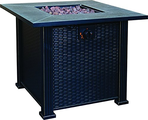 Terrace Park Gas Fire Table, 30-Inch