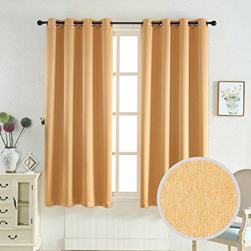 Taisier Home Three Pass Microfiber Room Darkening Curtains B