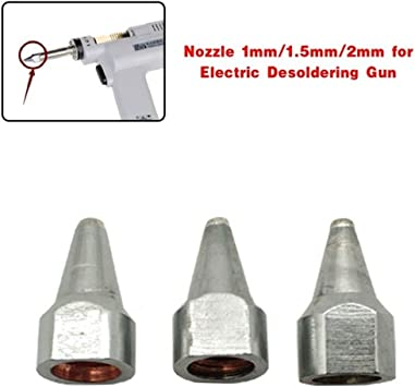 1mm//1.5mm//2mm Electric Desoldering Solder Gun Nozzle for S-993A//S-995A