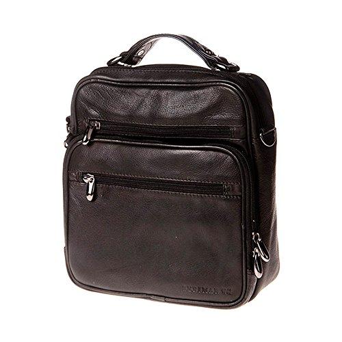 Tasche aus echtem Rindsleder. Maßnahmen:24x21x7 cms.