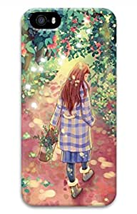 The Forest Girl Hard Case Cover iPhone 5S 5