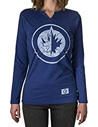 NHL Junior Ladies' Long Sleeve Split Neck Cover Up