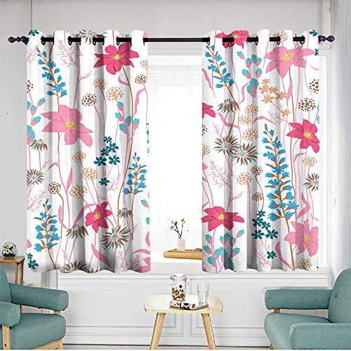 (Waterproof Window Curtains W 72