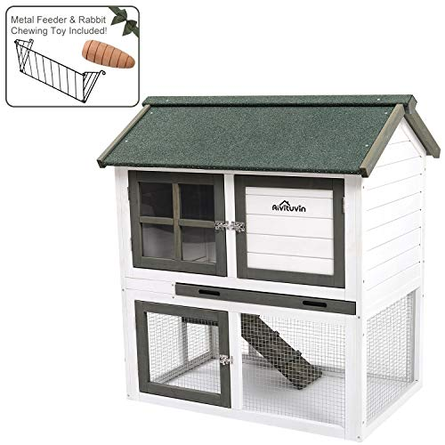 Used, Aivituvin Cage for Bunny Indoor and Outdoor Rabbit for sale  Delivered anywhere in USA