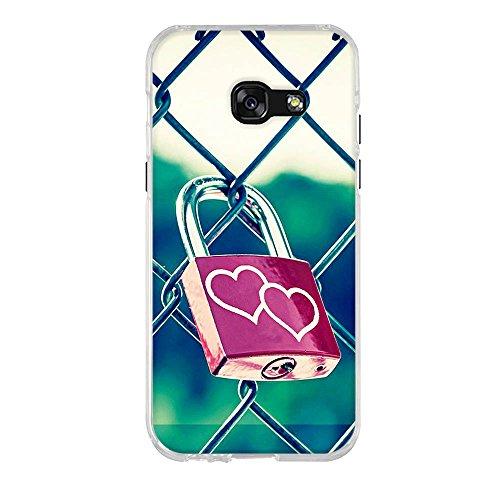 A3 4 Haute Samsung Coque Téléphone Color 1 Tpu Silicone Galaxy Pour Qualité 2017 A3017 Fubaoda rose Jardin Ultra 7 Slim Portable ZBqvxd
