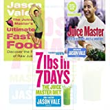 Jason Vale Collection 3 Books Set (The Juice Master's Ultimate Fast Food: Discover the Power of Raw Juice, 7lbs in 7 Days: The Juice Master Diet, Juice Master Keeping It Simple)