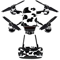 Skin for DJI Spark Mini Drone Combo - Cow Print| MightySkins Protective, Durable, and Unique Vinyl Decal wrap cover | Easy To Apply, Remove, and Change Styles | Made in the USA
